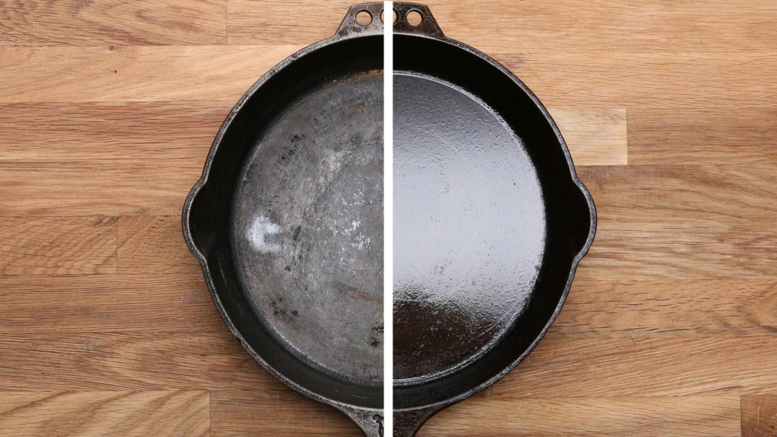 сковорода чугунная использование